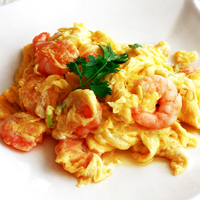 shrimp-scramble-egg